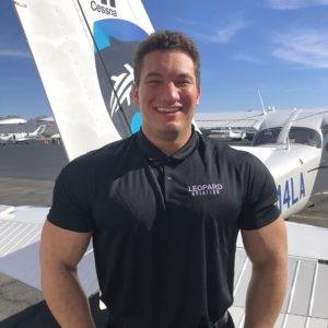Flight Instructor, Cameron Wals