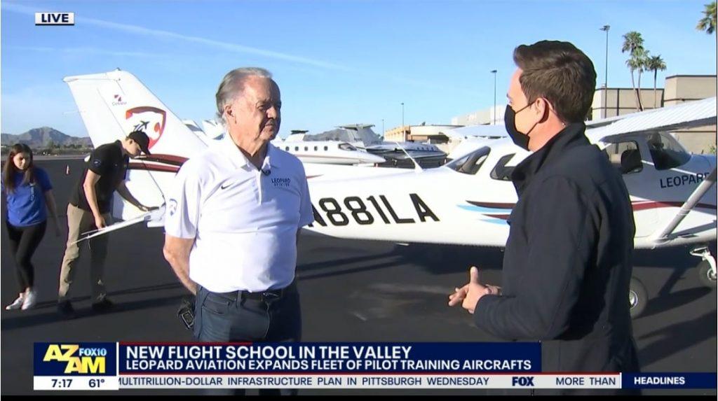 Leopard Aviation on Fox 10